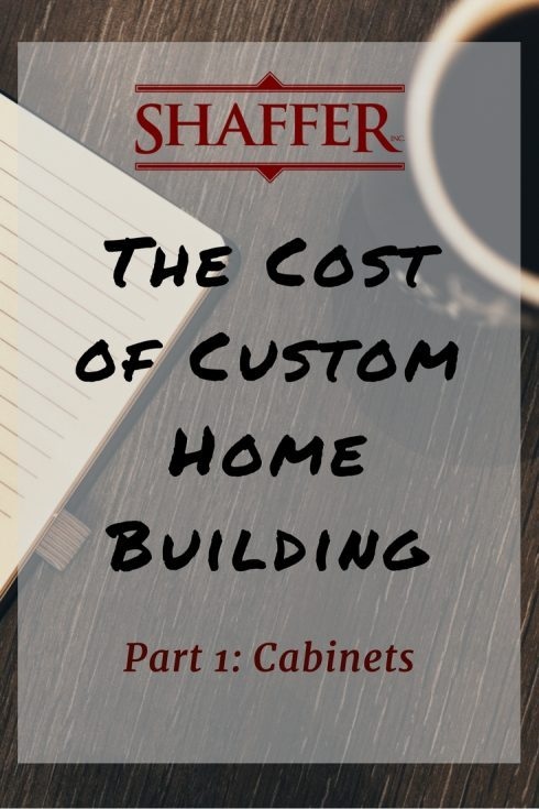 The cost of custom home building series part 1 for Custom home construction cost