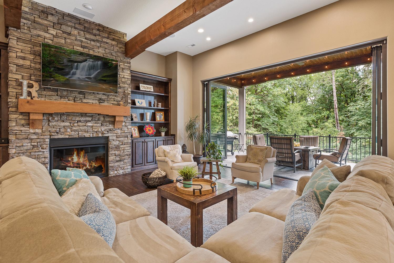 Shaffer Inc. Contemporary Timber Custom Home