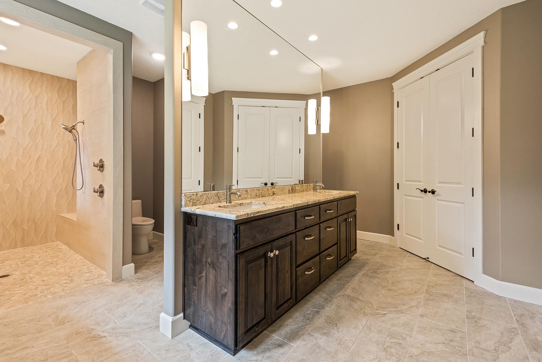 Shaffer Inc. Contemporary Timber Custom Home 11