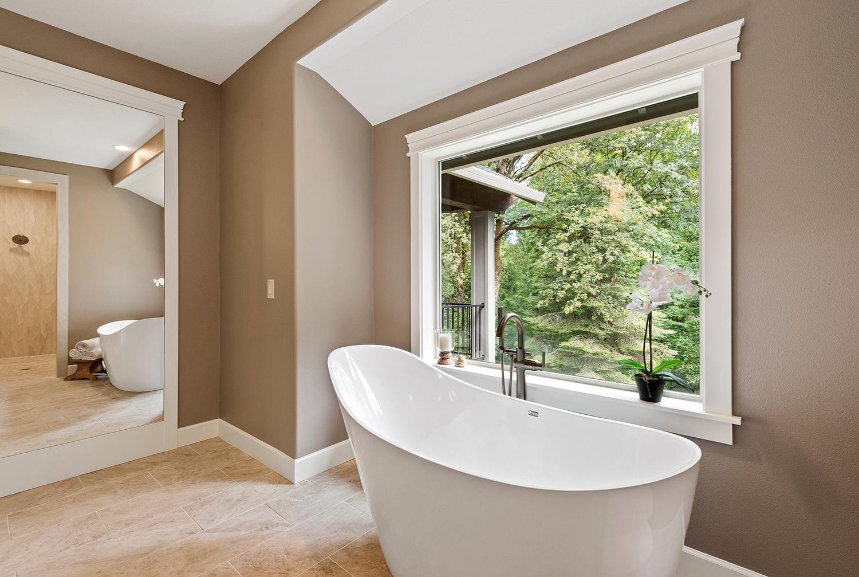 Shaffer Inc. Contemporary Timber Custom Home 12