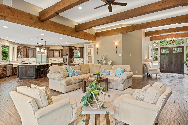 Shaffer Inc. Contemporary Timber Custom Home 13