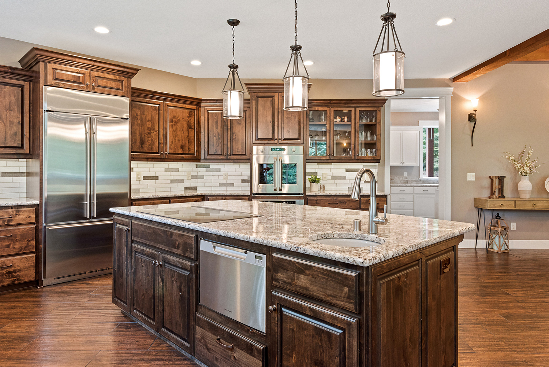 Shaffer Inc. Contemporary Timber Custom Home 4
